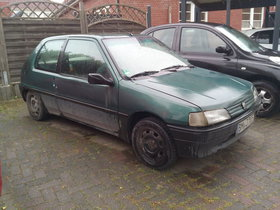 Peugeot 106 XR - Benzin / Autogas (LPG) - für Bastler -