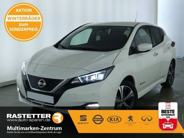 Nissan Leaf n-connecta 40 kWh Navi LED ACC Kamera SHZ PDC Klimaaut Keyless Nebel LMF