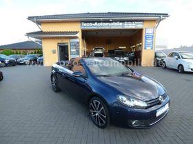 VW Golf VI Cabriolet-S-HEIZUNG-AHK-XENON-NAVI-LEDER