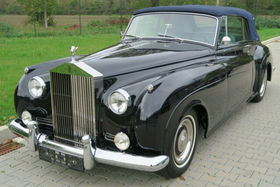 Silver Cloud I DHC Mulliner LHD