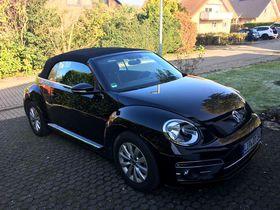VW New Beetle Cabriolet Design, wenig Kilometer, Garagenwagen Zustand wie neu