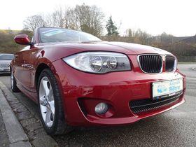 BMW 118d Cabrio Leder Sitzheizung Einparkhilfe