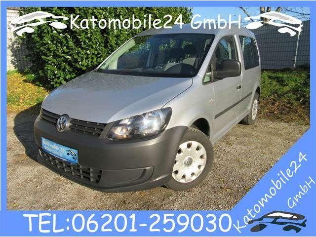 VW Caddy Kombi 2.0 EcoFuel CNG Erdgas Klima Bluetooth ...