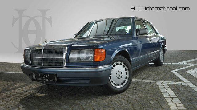 Mercedes-Benz 300 SE H-Kennzeichen Automatik   Schiebedach