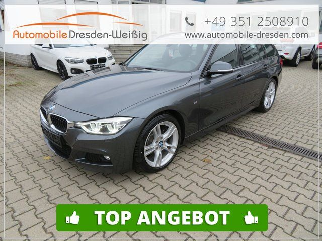 BMW 320 iA M Sport-voll LED-Navi-Hifi-Leder-EU6 d Temp