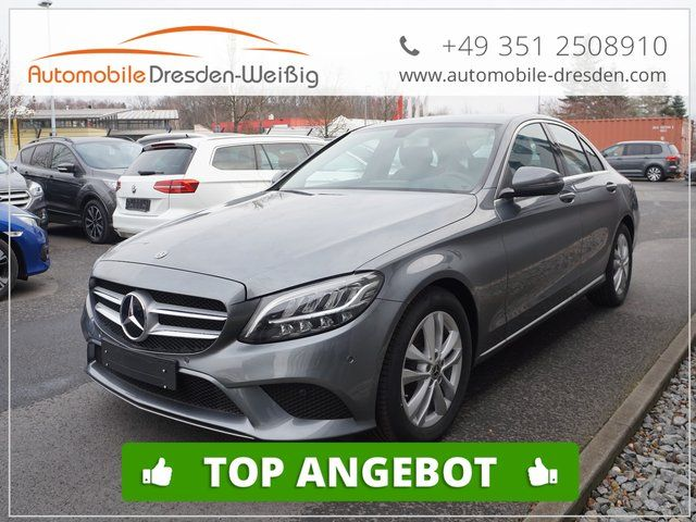 MERCEDES-BENZ C 220 d BlueTec Avantgarde 9G Tronic WLTP-LED-