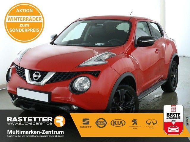 Nissan Juke 1.6 Xtronic acenta Klimaaut Temp Nebel LMF Bluet USB MFL eFH