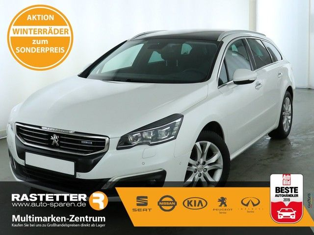 Peugeot 508 SW BlueHDi Allure Full-LED City Pano Navi Kamera SHZ PDC Teilled Klimaaut