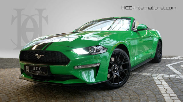 Ford Mustang Convertible 2,3 EB B&O| Premium| ACC