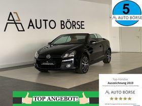 VW Golf Cabriolet -PERFORMANCE-NAVI-LEDER-XENON-ALU