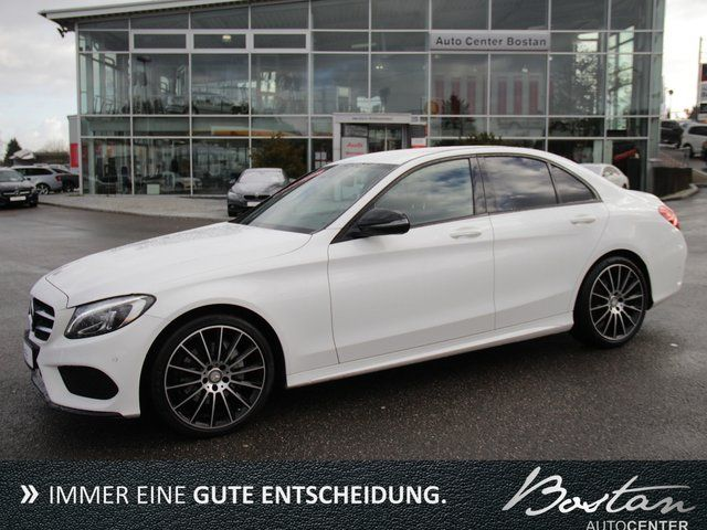 MERCEDES-BENZ C 220 d-AMG-EURO 6-LEDER-AUT-LED-DEUTSCHES AUTO