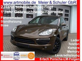 PORSCHE Cayenne S 4,2 V8 Diesel Panorama Standheizung 2.Hand sh-gepflegt