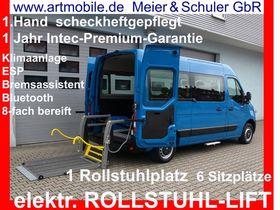 OPEL Movano B elektr.ROLLSTUHLLIFT L2H2 6 Sitze