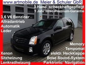 CADILLAC SRX 3,6 V6 AWD scheckheftgepflegt dt.Fahrzeug