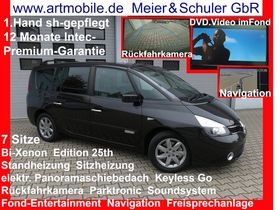 RENAULT Espace Grand Edition 25th 7Sitze Panorama Fond-Entertainment