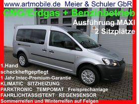 VW Caddy Maxi Kasten 2,0 EcoFuel Erdgas/CNG+Benzin 1.Hand