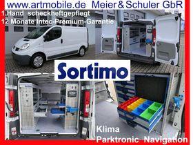 RENAULT Trafic Sortimo Werkstatteinbau Klima Navi PDC Garantie