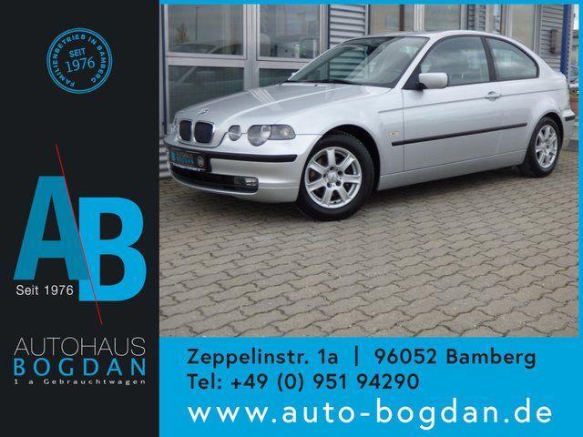 BMW 316ti Automatik-PDC-Klima-TÜV neu-Service neu-