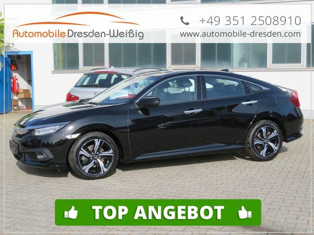 HONDA Civic 1.6I-DTEC Executive-Navi-Leder-LED