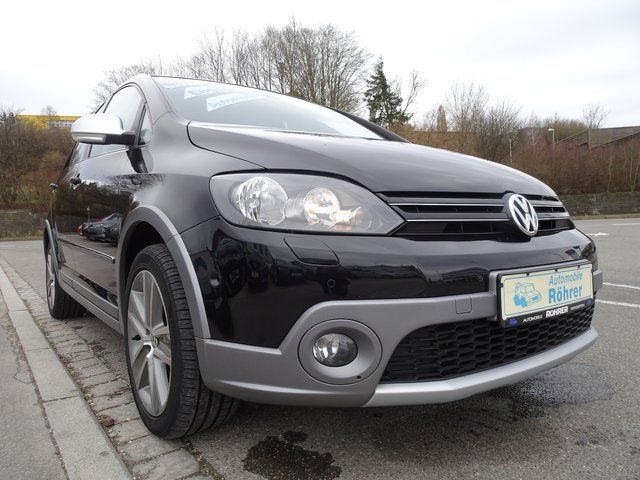 VW Cross Golf Plus 2.0 TDI DSG Sitzheiz. PDC