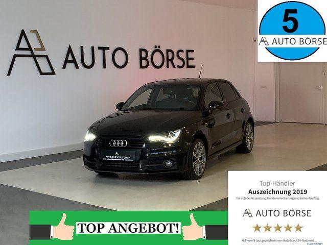 AUDI A1 Sportback 1.6 TDI S Line-Edition-NAVI-XENON-