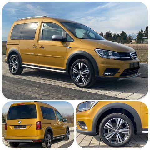 VW Caddy Alltrack 2,0 ECO Vorsteuerabzug Vollkasko ab 77.-