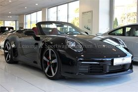 Porsche 992 911 Carrera 4S Cabrio NEW MY20 LEATHER RED%%