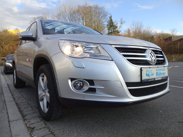 VW Tiguan 2.0 TDI DSG 4Motion Freestyle Navi AHK