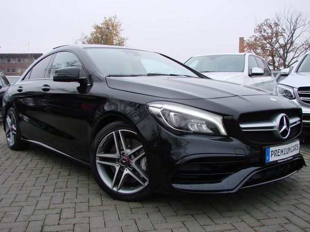 MERCEDES-BENZ CLA 45 AMG Night-Paket 4M LED Navi Leder Pano Kamera Harman&Kardon