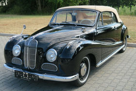 BMW 502 V8 Barockengel Cabriolet