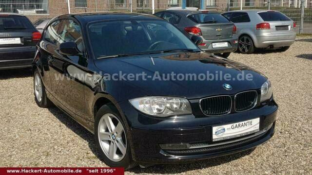 BMW 116i Advantage-Paket, alle Inspektionen bei BMW
