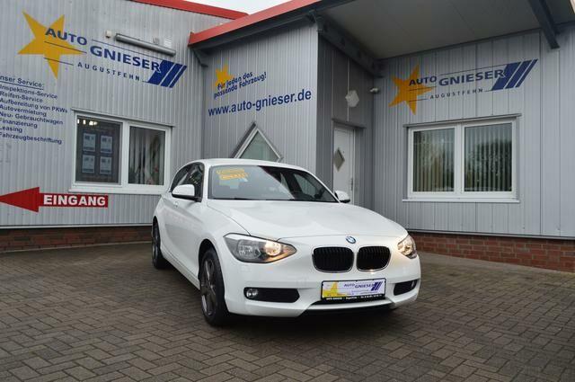BMW 1er 2.0 -Klimatr.-Sitzhzg.-Bluetooth-Start/St...