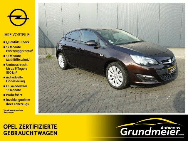 OPEL Astra J Lim. 5-trg. Style/Navi/PDC