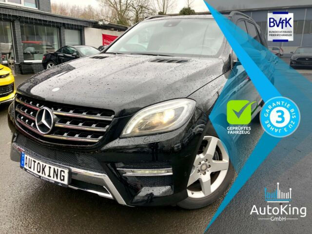 MERCEDES-BENZ ML 350 CDI AMG BlueTEC 4MATIC NAVI PDC SHZ