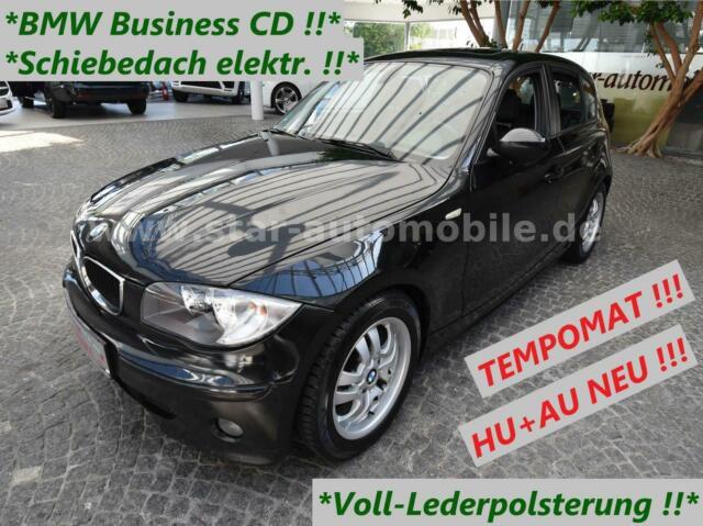 BMW  120i-SITZH-TEMPOM-LEDER-SCHIEBED.-AUDIO BUSIN-