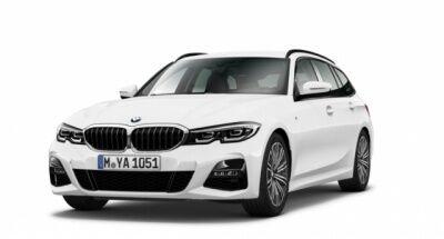 BMW 320d T Leas.o.Anz.ab 365,- netto M-Paket Schalter