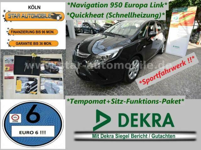 OPEL Zafira C Tourer Edition 1,6CDTI-NAVI-TEMPOM.-EU6