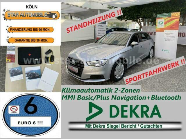 AUDI A3 Sportback 2.0TDI-BI-XENON-NAVI-ST.HEIZUNG-EU6