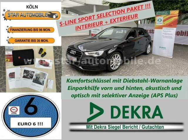 AUDI A3 Sportback Ambition 2,0TDI-S-LINE-BI-XENON-EU6