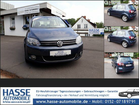 VW GOLF PLUS 2.0 TDI EU5 HIGHLINE