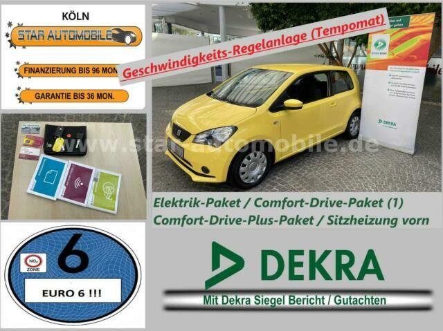 SEAT Mii Style  1,0-SITZH-TEMPOMAT-KLIMA-PDC-EU6!-