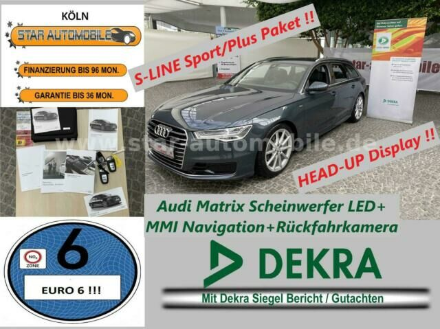 AUDI A6 Avant 2.0TDI ultra-S-LINE-RFK-LED-HEAD-UP-EU6