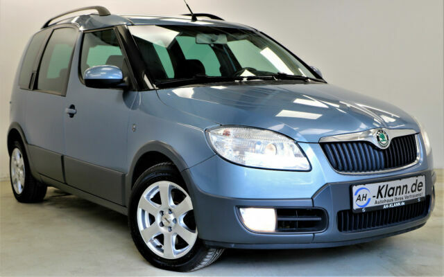 SKODA Roomster 1.6 105 PS LPG Scout Klima  SHZ  Top
