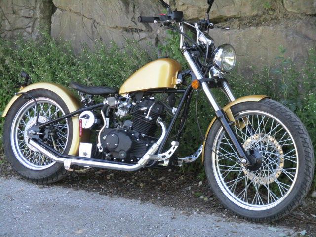 weitere IRON-HORSE ``Golden-Chopper``125ccm