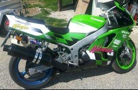 Kawasaki ZX6R Zx600f1