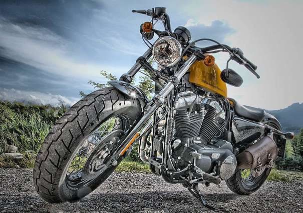 Harley Davidson XL1200X Forty Eight