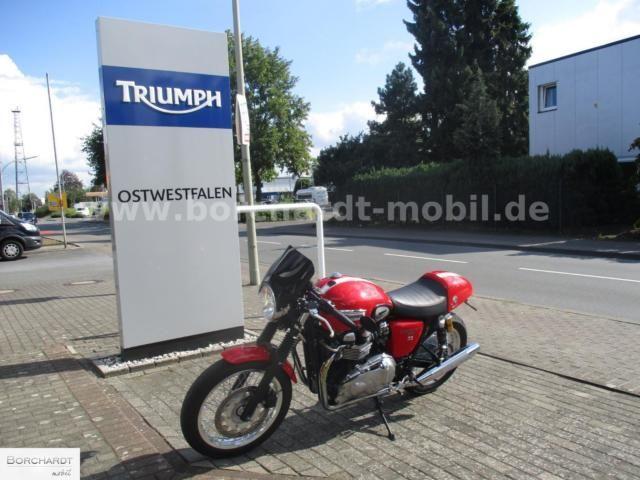TRIUMPH Thruxton / Öhlins / Remus / kurzes Heck