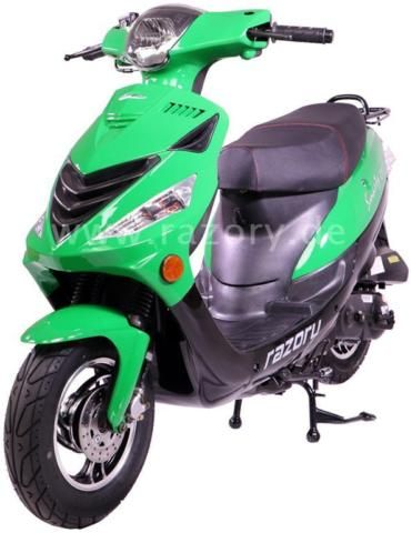 ANDERE Razory Smarty R11 City 4-Takt Motorroller Grün