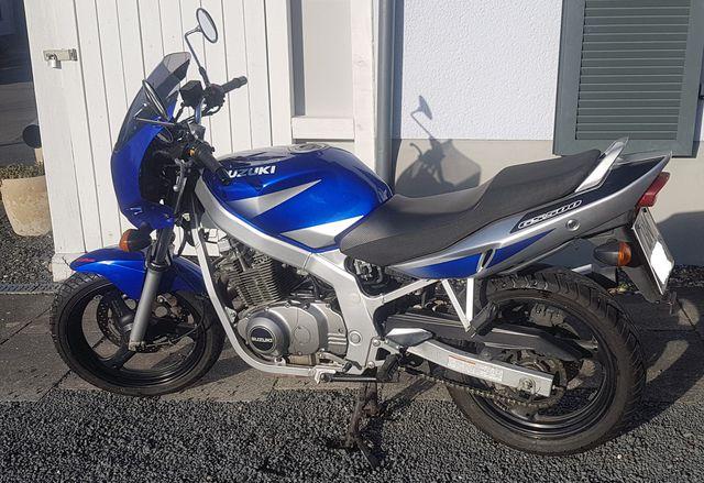 Suzuki GS500 EUK2, unfallfrei