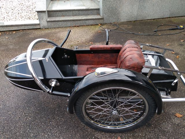 Seitenwagen Champion 1939 Rarität